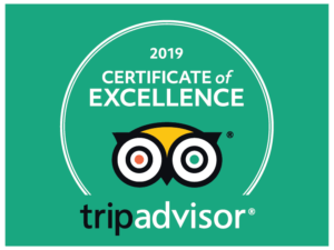 certificate of excellence 2019 - tripadvisor