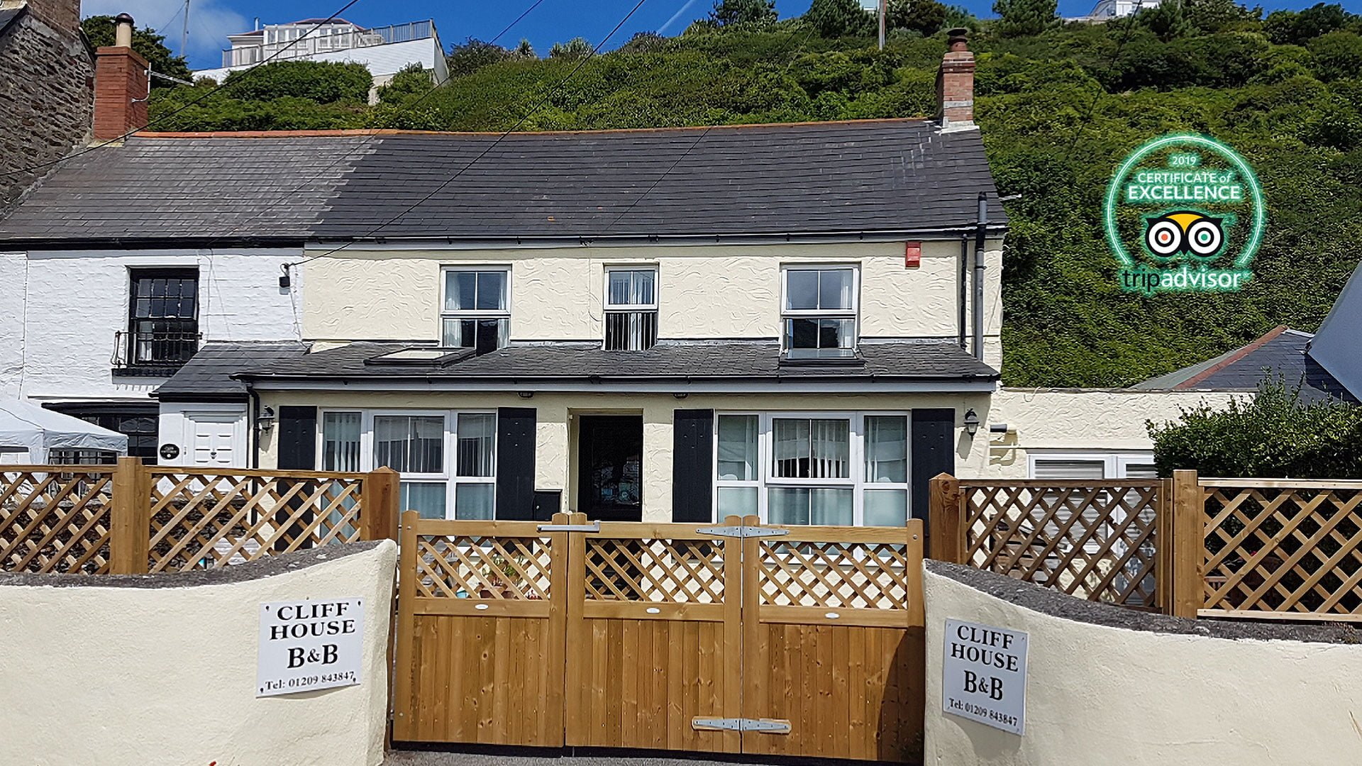 Cliff House B&B Portreath Cornwall
